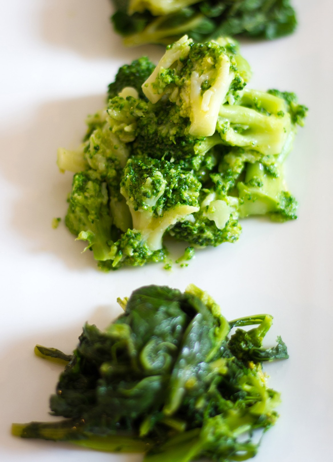 Sautéed Broccoli and Spinach